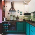 кухня с газовым котлом фото оформления