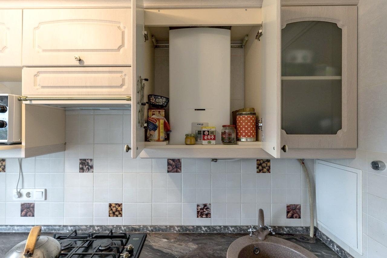 кухня с газовым котлом идеи фото