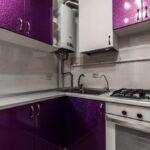 кухня с газовым котлом интерьер