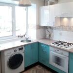кухня с газовым котлом интерьер фото