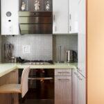 кухня с газовым котлом оформление