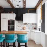кухня с газовым котлом оформление фото