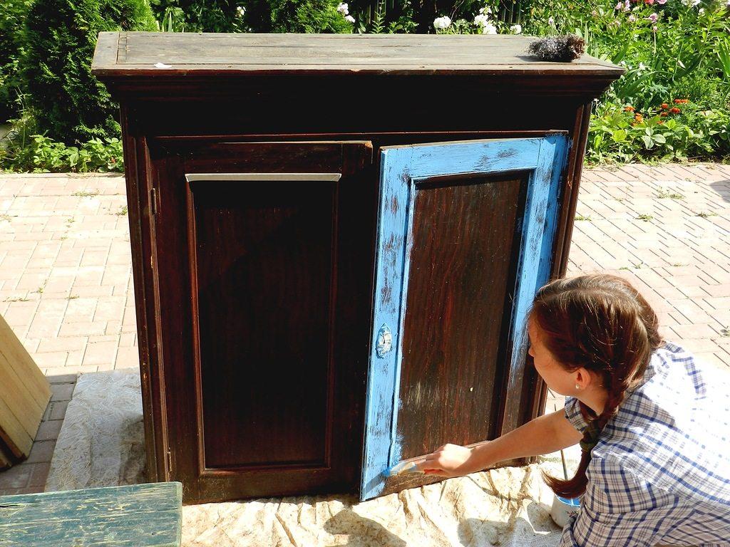 реставрации мебель
