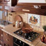 кухонная столешница декор