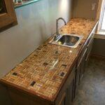 кухонная столешница фото интерьер