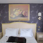 лампы в спальне над кроватью фото дизайн