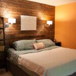 лампы в спальне над кроватью фото оформление
