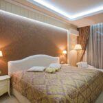 лампы в спальне над кроватью варианты фото