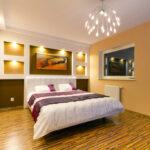 лампы в спальне над кроватью идеи виды