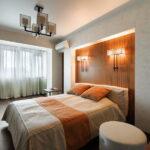 лампы в спальне над кроватью идеи фото