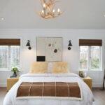 лампы в спальне над кроватью фото идеи
