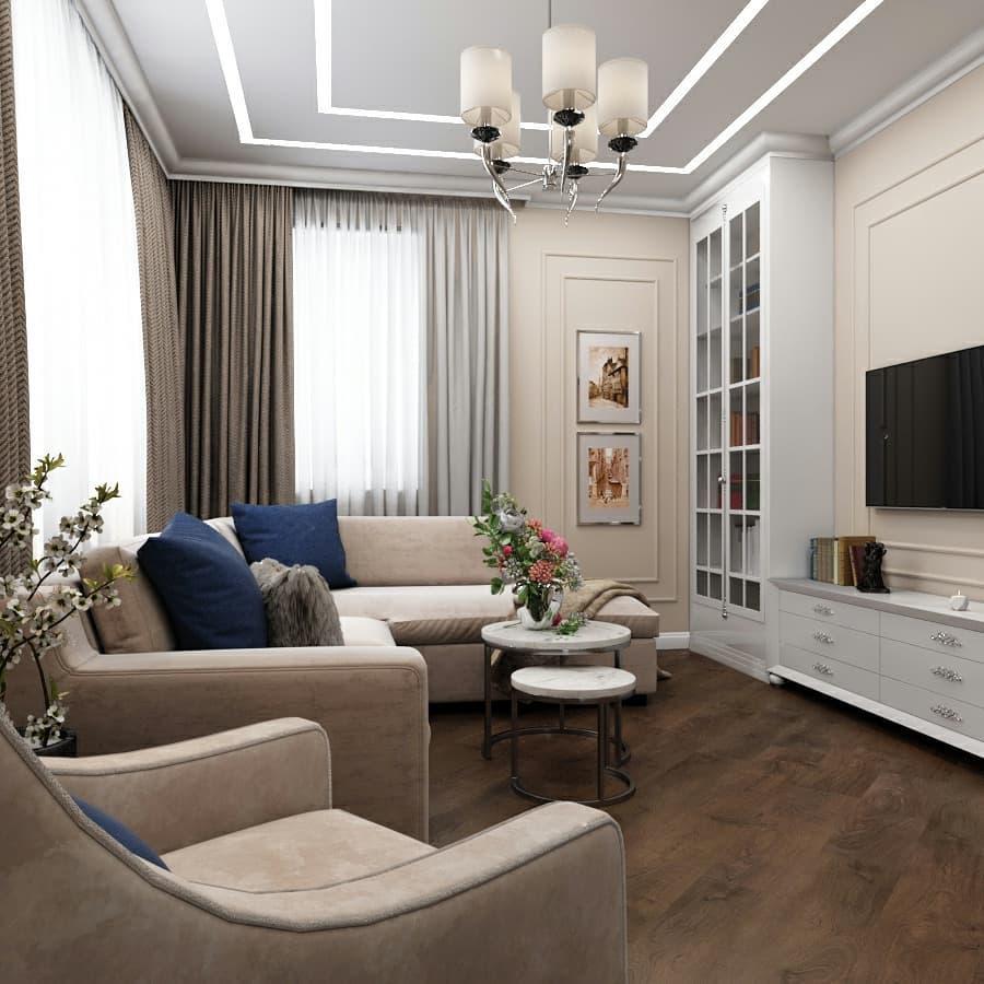 маленькая гостиная фото дизайн