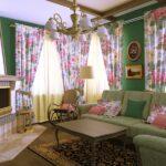 маленькая гостиная прованс