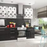фасад кухни черный