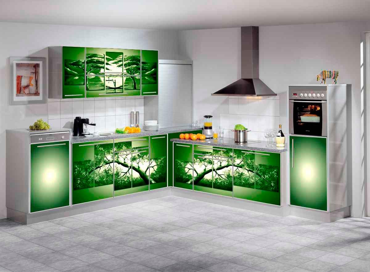 фасад кухни