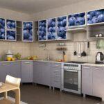 фасад кухни черника