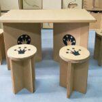 мебель из картона дизайн идеи