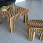 мебель из картона идеи дизайн