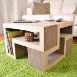 мебель из картона фото декора