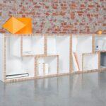 мебель из картона декор идеи