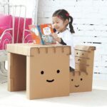мебель из картона идеи декора