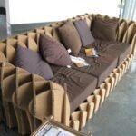мебель из картона интерьер фото