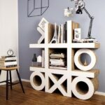 мебель из картона фото интерьер