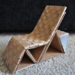 мебель из картона фото интерьера
