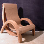 мебель из картона виды декора