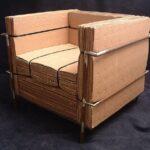 мебель из картона оформление фото