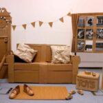 мебель из картона фото вариантов