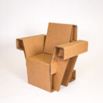 мебель из картона идеи фото