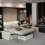 мебель трансформер для малогабаритной квартиры интерьер фото
