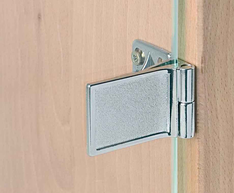 мебельные петли для стеклянных дверей фото