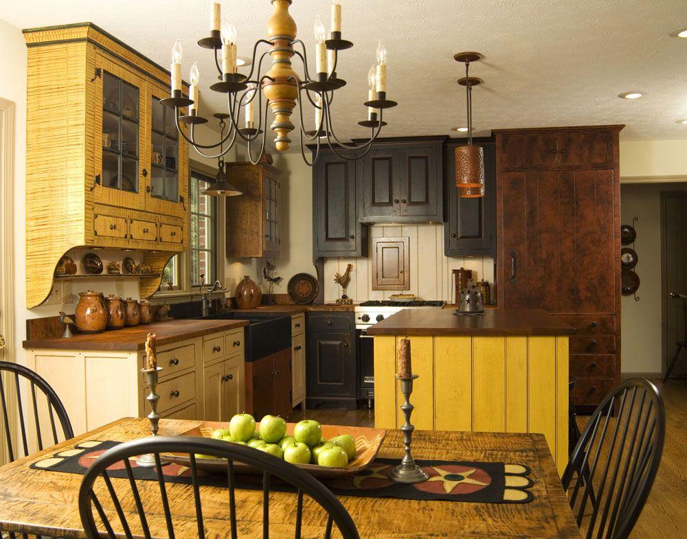 минусы колониальных кухонных гарнитур