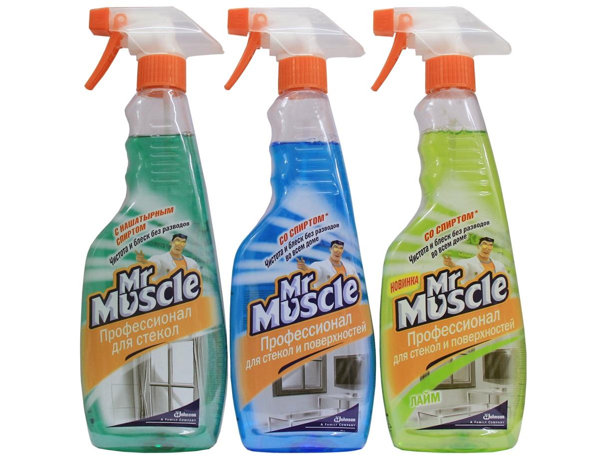 средств для мытья стекол
