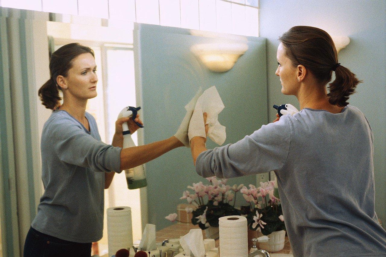 чистка по фото с зеркалами гели