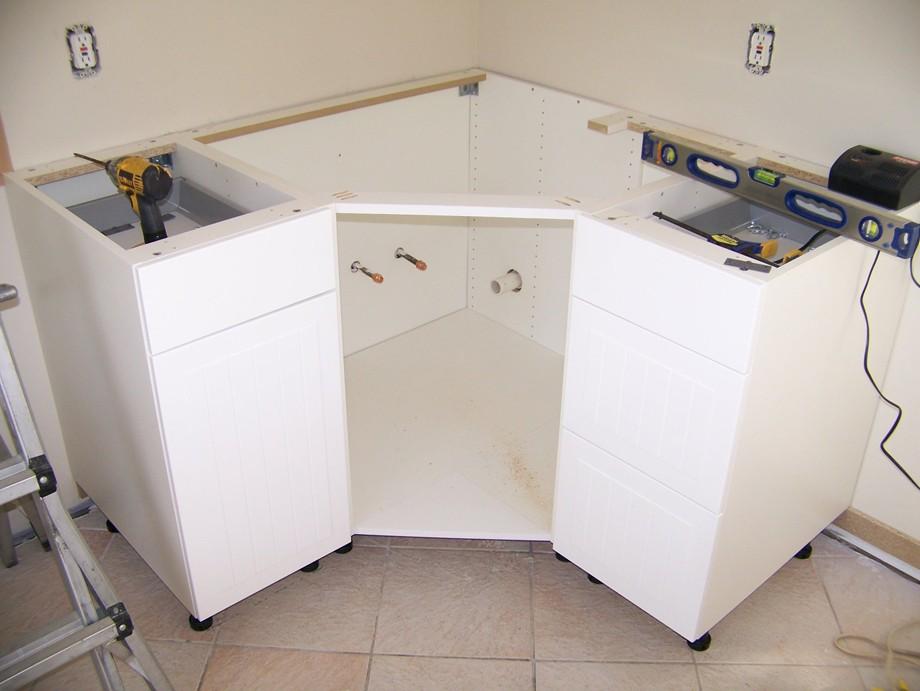 модуль на кухню в угол