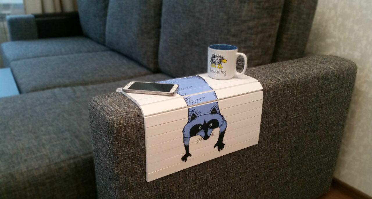 накладка на подлокотник дивана фото дизайна