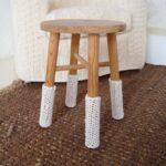 накладки на ножки стульев вязаные