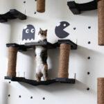 настенные полки для кошек декор фото