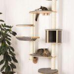 настенные полки для кошек дизайн фото