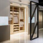 навесные двери для шкафа купе виды оформления