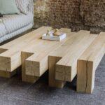 стол из дерева дощатый