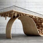 стол из дерева город