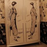 рисунок для декора старого шкафа