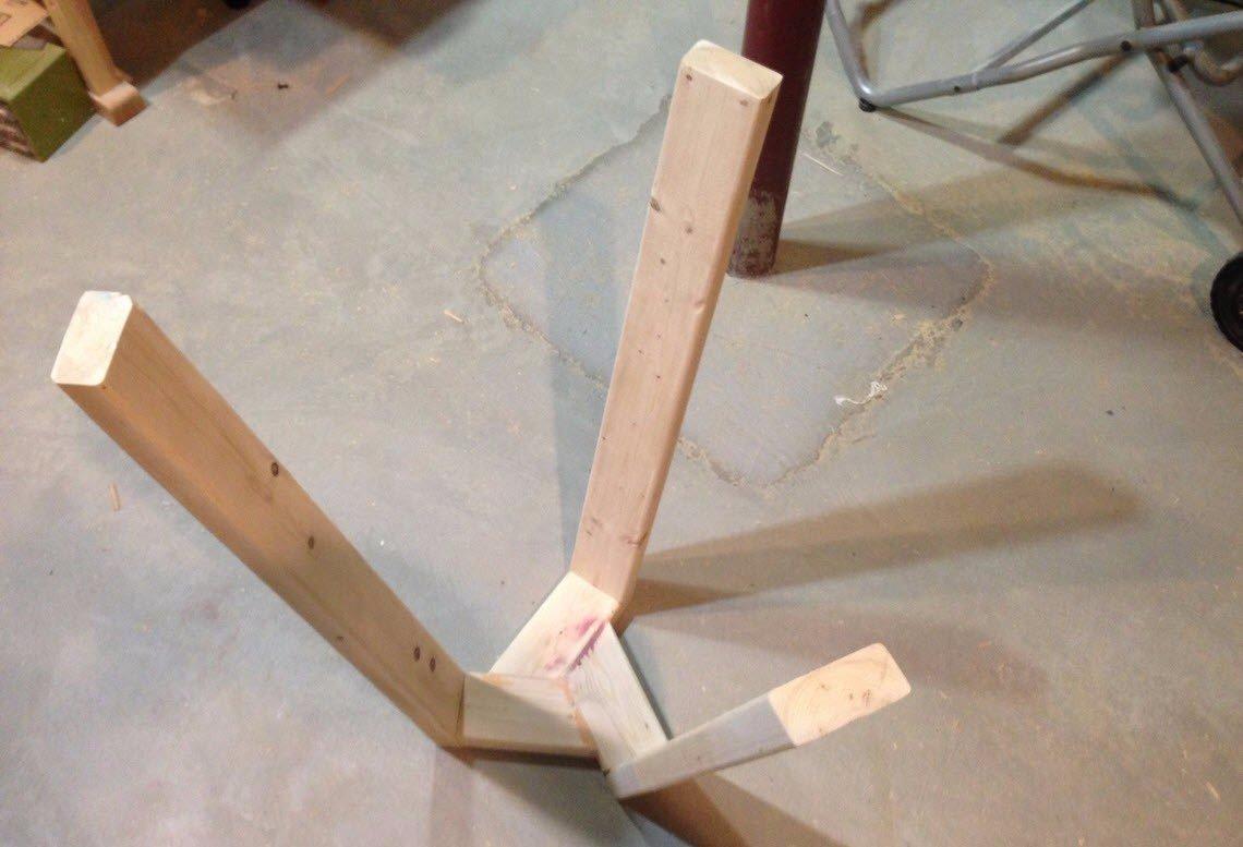 обработка древесины для ножек