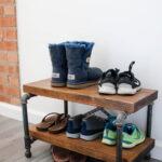 обувница в прихожую оформление фото