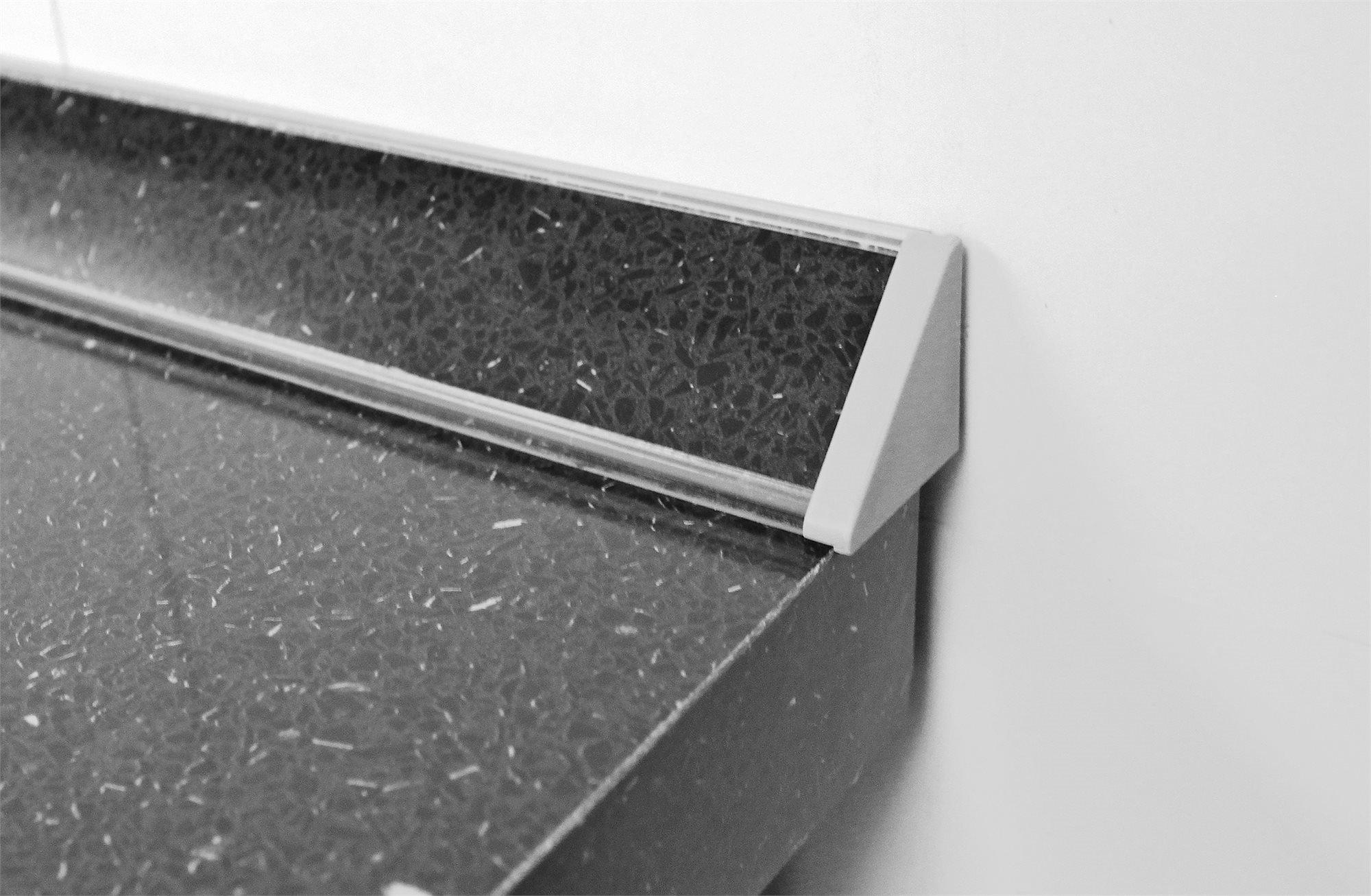 алюминиевый плинтус для столешницы из пластика