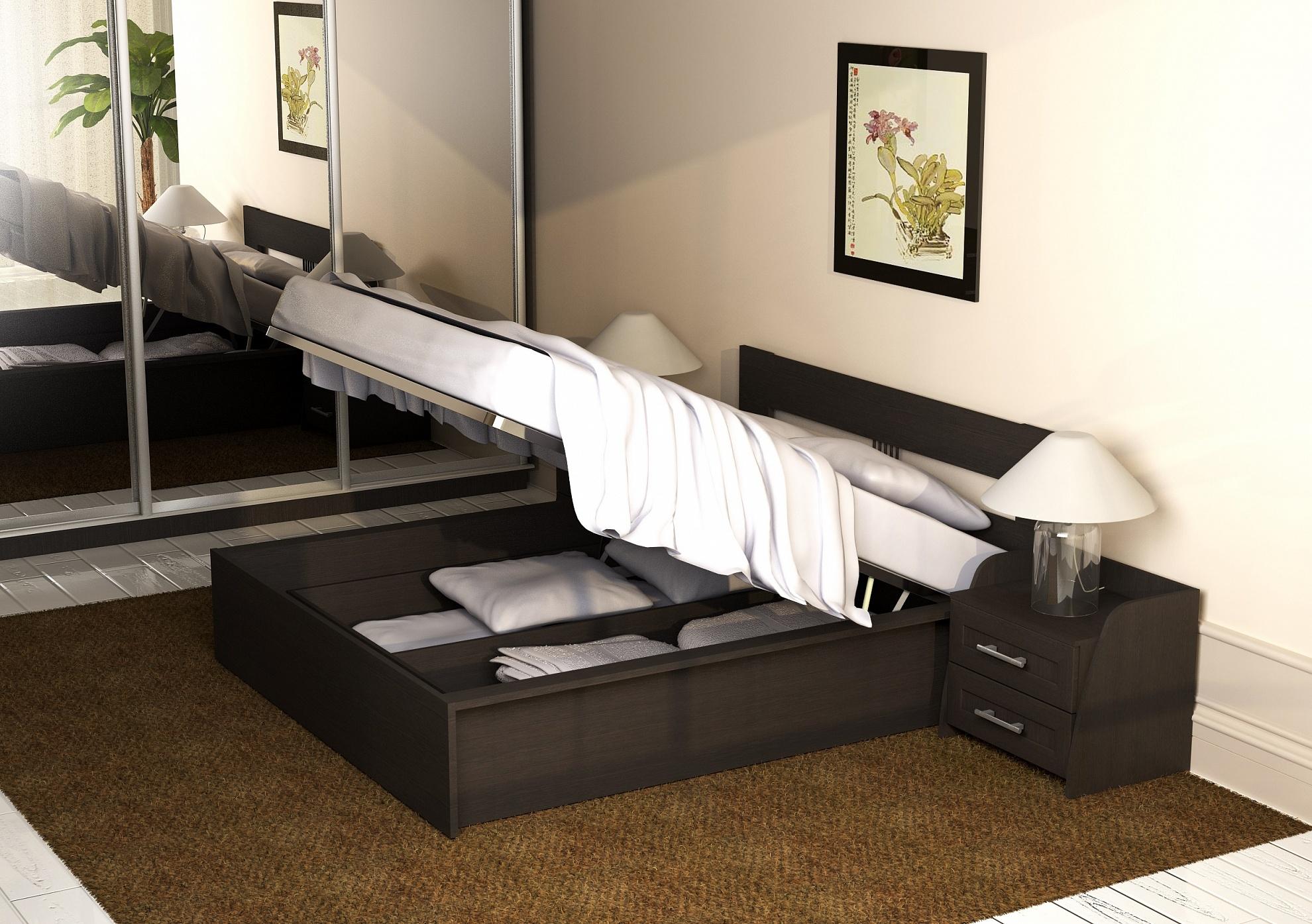 подъемные кровати с ящиками